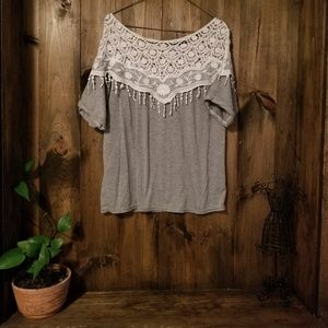 Cute Top! Unknown Brand. One Size